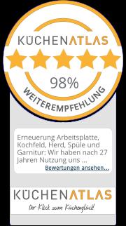 Bewertungen und Erfahrung mit Meiser Küchenstudio nahe Erfurt