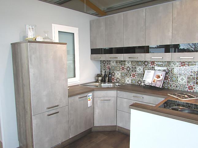 Wellmann wellmann sierra oxidbeton kompakte küche