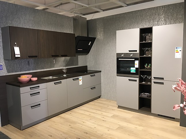 Artego Musterkuche Einbaukuche Turin Ausstellungskuche In