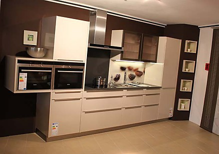 Kompakte Einbauküche