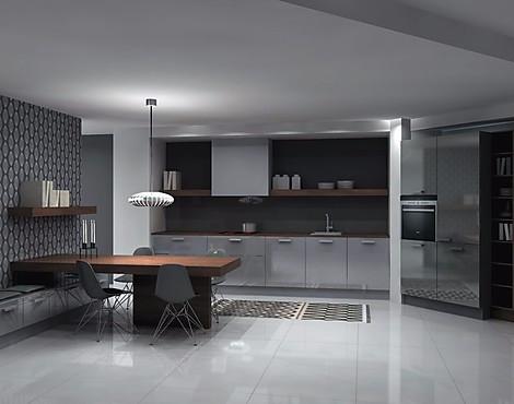 Glasfronten einbauküche grau hochglanz papyrusgrau u form küche nolte küchen großeinkauf ü 50 musterküchen
