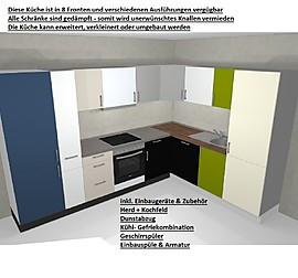burger musterk che moderne grifflose wohnk che inkl neff elektroger te ausstellungsk che in. Black Bedroom Furniture Sets. Home Design Ideas
