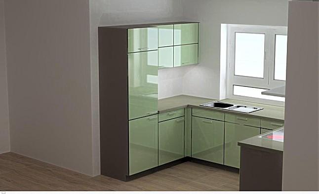 bauformat musterk che u k che in modischer farbe. Black Bedroom Furniture Sets. Home Design Ideas