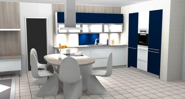 Alno Musterküche L Küche Mit Sitzgelegenheit Im Kochfeldbereich