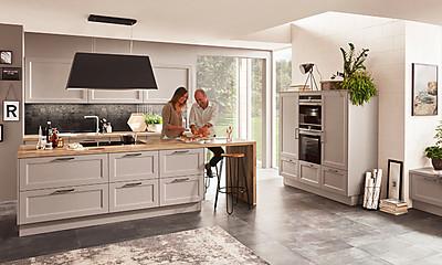 Nobilia Küchen: Landhaus in modern. Foto: Nobilia