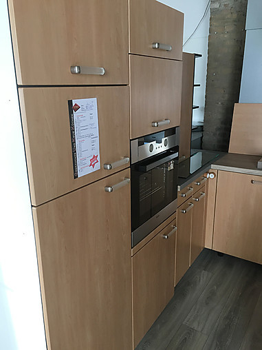 ALNO-Musterküche Küche Front: MDF Erle Repro /gebraucht