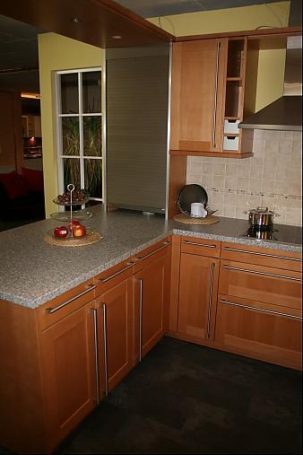 sch ller musterk che klassische landhausk che aus massivholz sch ller front ahorn honig. Black Bedroom Furniture Sets. Home Design Ideas
