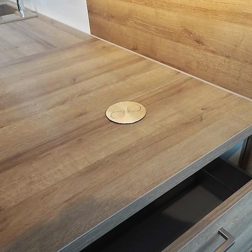 Nobilia-Musterküche Moderne Einbauküche Mit Halbinsel