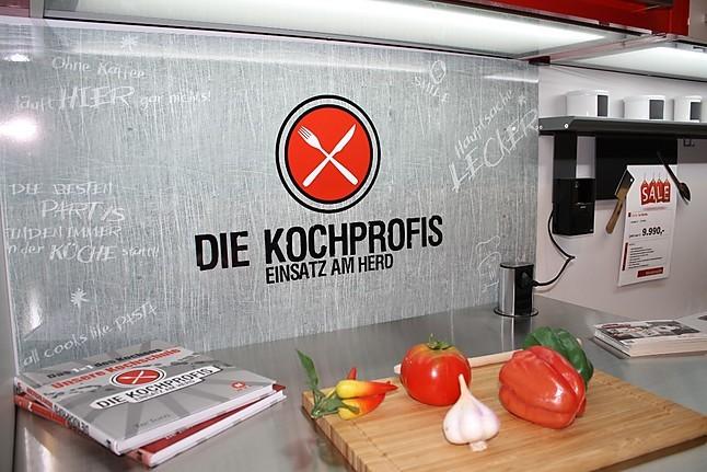 Nobilia-Musterküche exclusive L-Küche mit hochwertigen Neff ... | {Die kochprofis-küche 60}