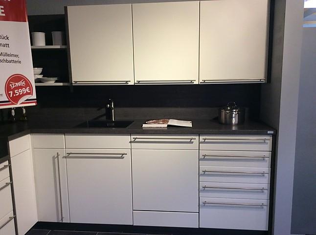 sonstige musterk che moderne hochwertige k che mit viel stauraum l form ausstellungsk che in von. Black Bedroom Furniture Sets. Home Design Ideas