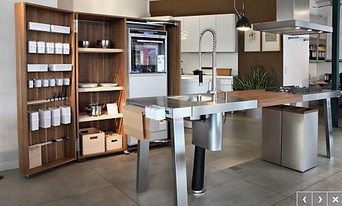 bulthaup musterk che werkschrank ausstellungsk che in. Black Bedroom Furniture Sets. Home Design Ideas