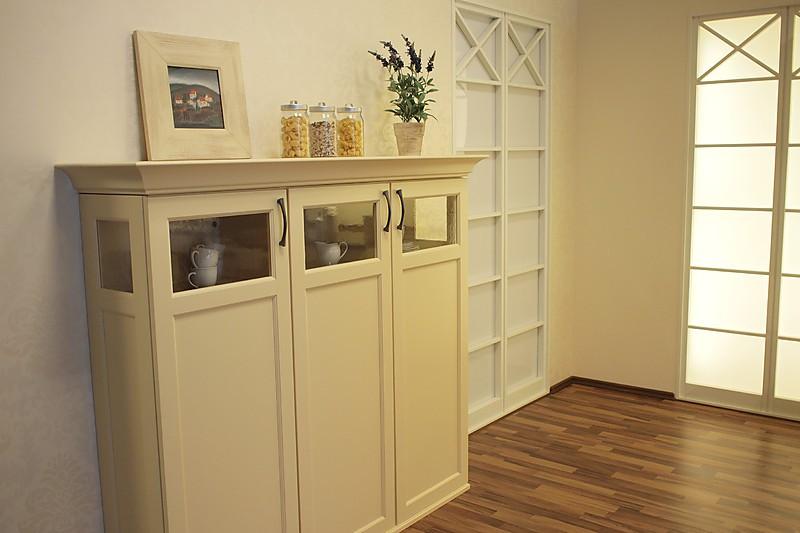 Küche Sideboard Landhaus ~ häcker musterküche edel echtholz lackiert l küche