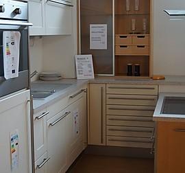 sch ller musterk che k chenzeile in skandinavischem stil ausstellungsk che in mengen ennetach. Black Bedroom Furniture Sets. Home Design Ideas