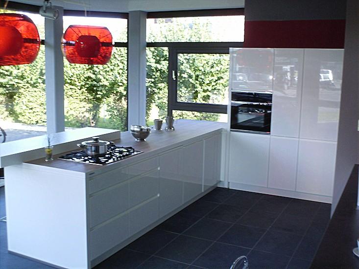 Hausmarke-Musterküche Musterküche HAUSMARKE: Ausstellungsküche in ...