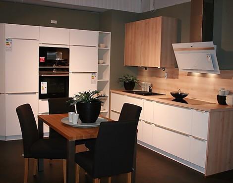 Zeitlos moderne küche weiß satin