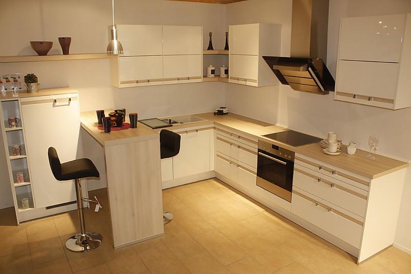 wellmann musterk che winkelk che mit theke als. Black Bedroom Furniture Sets. Home Design Ideas
