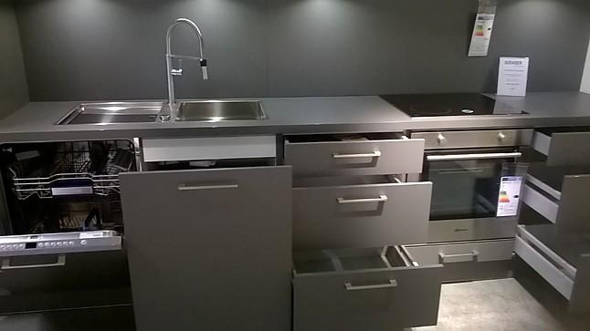 Artego Musterkuche Moderne Kuche Grau Ausstellungskuche In Munchen