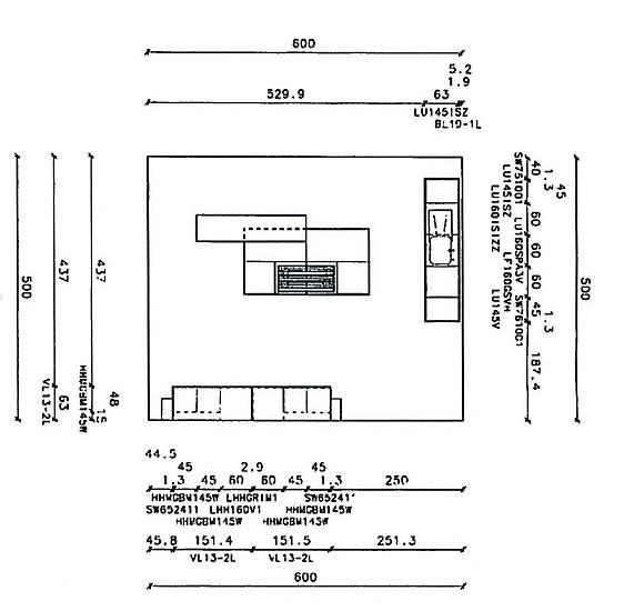 SieMatic-Musterküche Einbauküche Mit Kochinsel