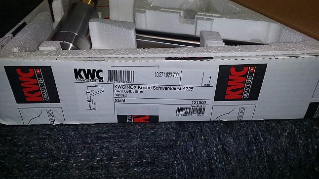 armatur kwc inox edelstahl kwc k chenger t von k chen atelier gmbh in knetzgau. Black Bedroom Furniture Sets. Home Design Ideas