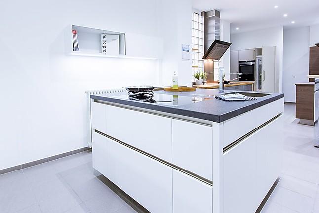 Rempp-Musterküche Küchenblock Rempp C-Line MK3: Ausstellungsküche in ...