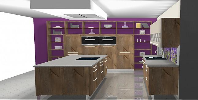 Hausmarke-Musterküche Design Wohnküche: Ausstellungsküche in ...