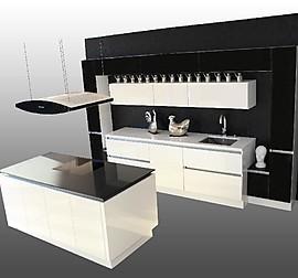 hausmarke musterk che moderne ferrari rot gl nzende k che snow white hochglanz lack und granit. Black Bedroom Furniture Sets. Home Design Ideas