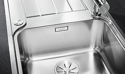 Küchenspüle aus Edelstahl