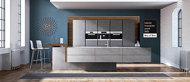 zeyko musterk che desingk che mit betonspachteloberl chen ausstellungsk che in verl von kr per. Black Bedroom Furniture Sets. Home Design Ideas