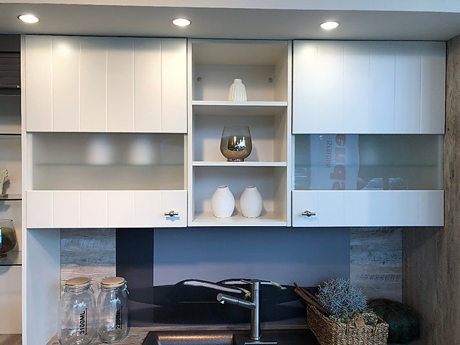 nobilia musterk che landhausk che ausstellungsk che in. Black Bedroom Furniture Sets. Home Design Ideas