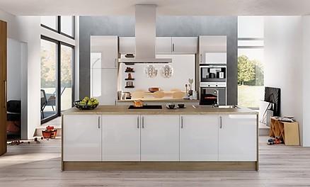 Weiße Lackküche im Küchenstudio Möbelkreis Brakel