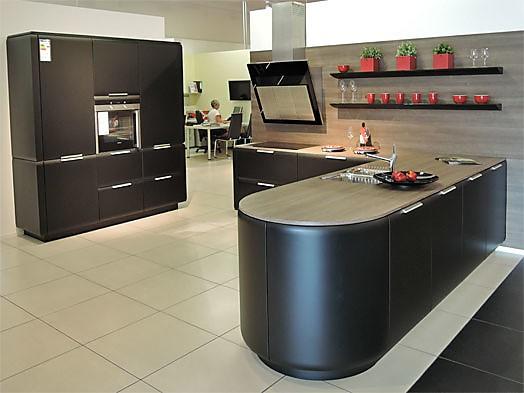 Rational-Musterküche Moderne L-Küche mit Insellösung zum ...
