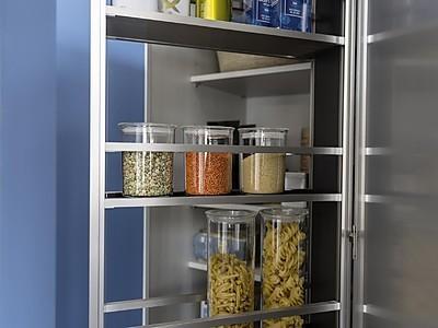 Innenausstattung Interior+ von Leicht Küchen zur Sortierung im Schrankinneren