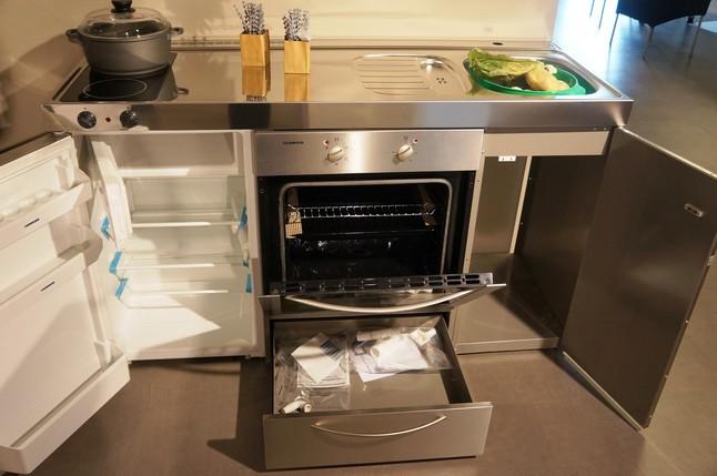 Gentil Edelstahl Mini Küche Stengel