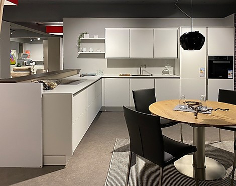 SieMatic Pure Collection - SLC-F lotusweiß lack feinstrukturiert