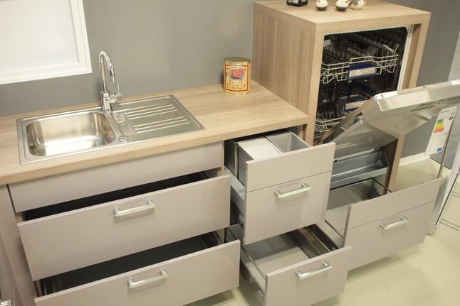 nobilia musterk che edel modern platinum splinteiche ausstellungsk che in zwickau von. Black Bedroom Furniture Sets. Home Design Ideas