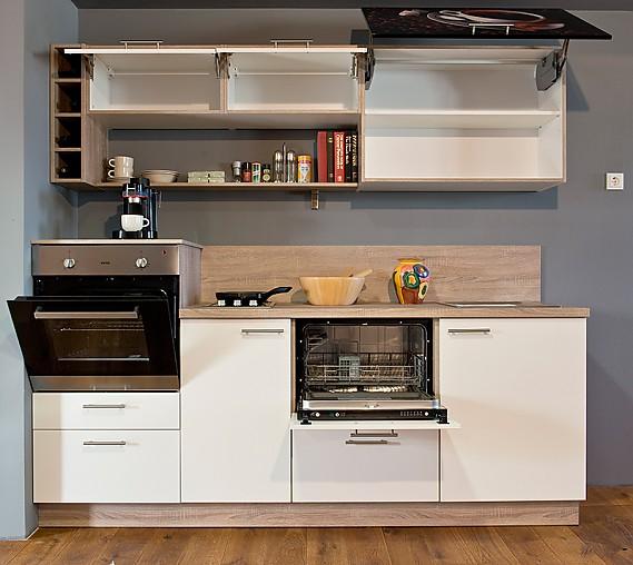 Nolte-Musterküche Miniküche - Singleküche - Einbauküche | Komplettküche: Ausstellungsküche in ...
