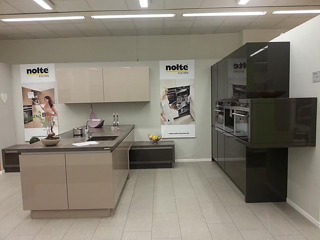 Nolte-Musterküche Moderne Planung: Ausstellungsküche in Weilbach ...