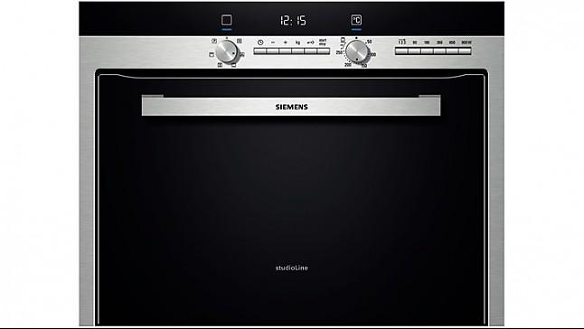 backofen hb84k582 studioline einbau kompakt backofen mit. Black Bedroom Furniture Sets. Home Design Ideas