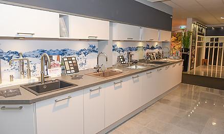 Smarte Armaturen in Heka Küchenausstellung