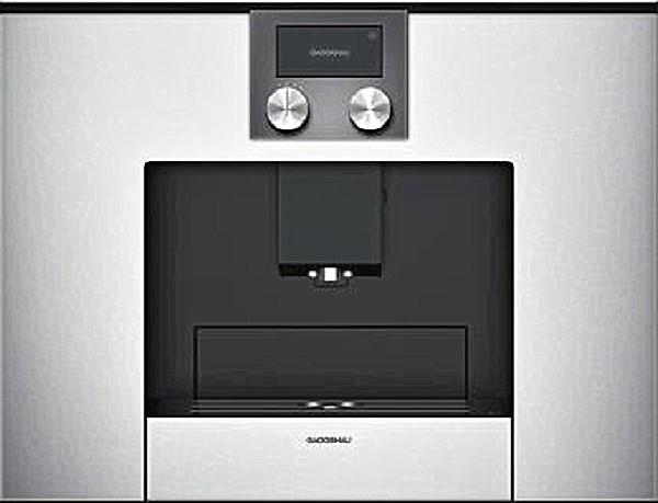 kaffeevollautomaten gaggenau einbau kaffeevollautomat cmp. Black Bedroom Furniture Sets. Home Design Ideas