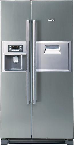 Kuhlschrank Kan60a45 Kuhl Gefrierkombination Mit Eis Wasserspender