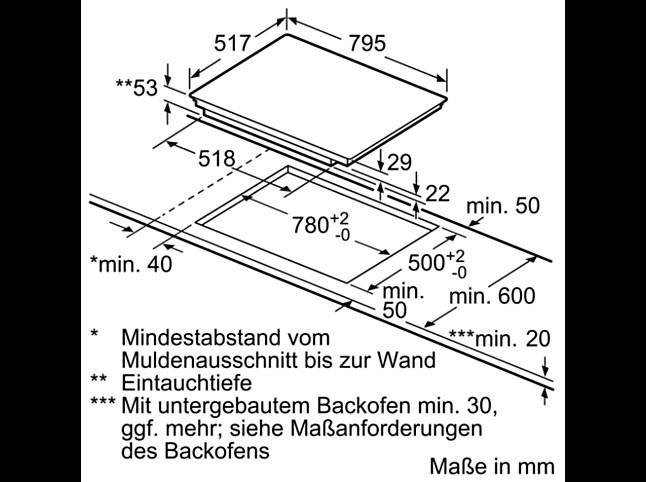 kochfeld induktionskochfeld tbd5820n mit touchcontrol bedienung neff k chenger t von ahrendt. Black Bedroom Furniture Sets. Home Design Ideas