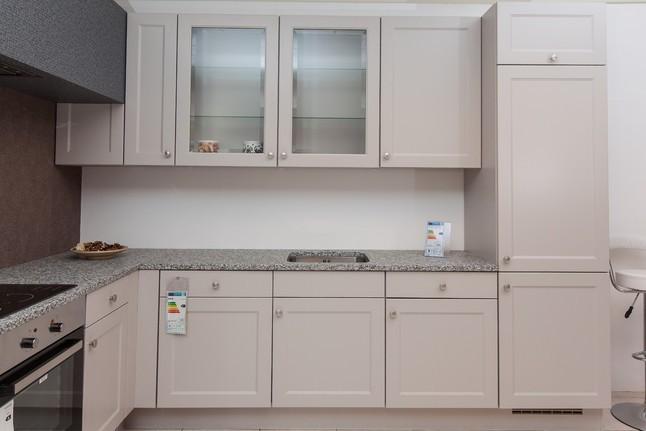 nobilia musterk che moderne landhausk che mit granitarbeitsplatte ausstellungsk che in simmern. Black Bedroom Furniture Sets. Home Design Ideas