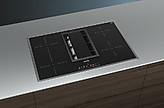 kochfeld mit dunstabzug ed845fs11e kochstelle mit integriertem dunstabzug80 cm induktions. Black Bedroom Furniture Sets. Home Design Ideas