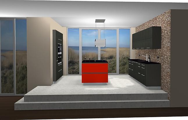 hausmarke musterk che luxus design k che hochglanz lack ausstellungsk che in buchholz von. Black Bedroom Furniture Sets. Home Design Ideas
