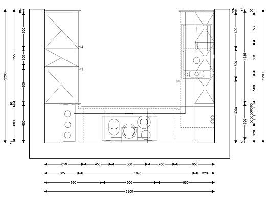 linea musterk che moderne u k che zum abverkaufspreis ausstellungsk che in w rth von grimm. Black Bedroom Furniture Sets. Home Design Ideas