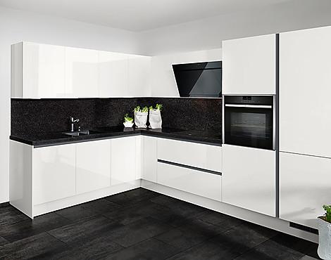musterk chen b rse k chen mit hochglanzfronten im abverkauf. Black Bedroom Furniture Sets. Home Design Ideas