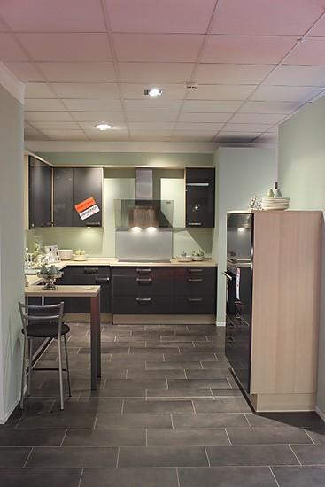 nobilia musterk che xeno anthrazit ultra hochglanz mk 102 ausstellungsk che in rheda. Black Bedroom Furniture Sets. Home Design Ideas
