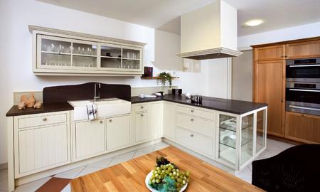 landhausk che modern so wird die landhausk che gem tlich und zeitgem. Black Bedroom Furniture Sets. Home Design Ideas