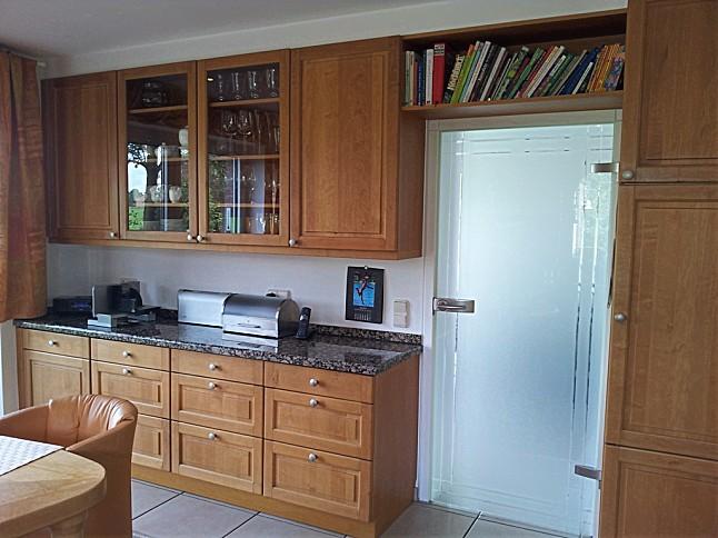 bax musterk che front erle massiv ausstellungsk che in l nen von k chen schmidt. Black Bedroom Furniture Sets. Home Design Ideas